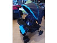 Travel Cot, High Chair and Stroller