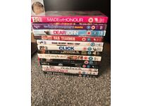 13 DVDS all in excellent condition
