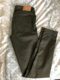 Zara Jeans - Army Green - US size 2/UK 4-6