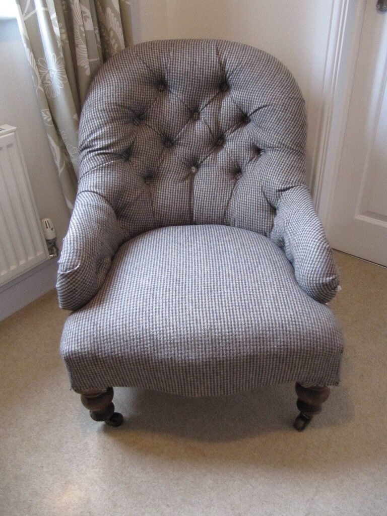 Victorian Button Back Nursing Chair In Crediton Devon