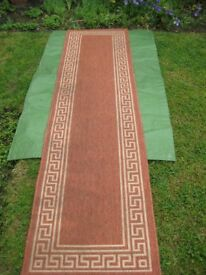 Patterned Fabric Rug for £8.00