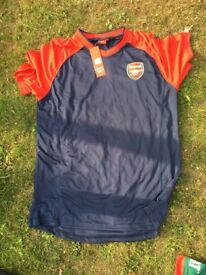 arsenal shirt new with tags