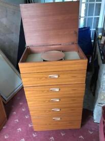 Retro set of drawers