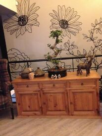 Solid Wood Large Sideboard