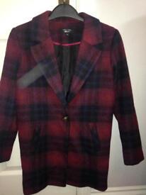 Girls wool coat Age 9