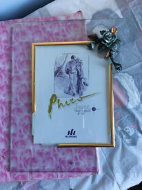 Glass picture frame, brand new, bargain at only £10, costs £29.95