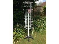 72 hook hanging display stand great for car boot fairs or shops