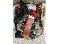 Job lot of belts for sale carboot