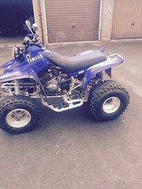 Yamaha warrior 350 road legal quad bike