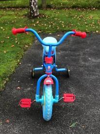 Peppa pig toddlers bike