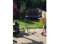 Used large kids trampoline