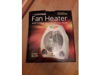 Portable Fan Heaters (x2)