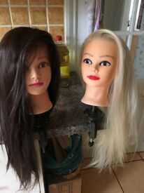 Mannequin Dolls Head with clamp