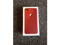 Iphone 8 plus 64 gig in red