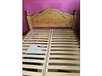 Solid Ducal Pine Double Bed