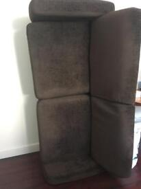 FREE Brown Two seater sofa GONE