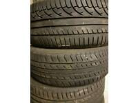 Two Part worn tyre 225/50/16 michelin