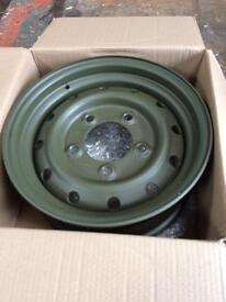 New Land Rover defender wolf rims