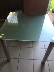 Kitchen table -glass