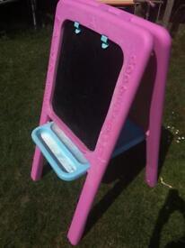ELC pink easel