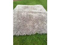New silver / grey rug
