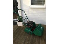 Lawmower-Gentlemans traditional lawnmower petrol strong Kawasaki engine for the perfect striped lawn