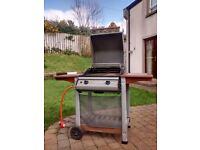 Gas barbecue + cylinder