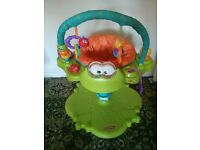 Space saver Fisher-Price Bounce and Spin Froggy £25