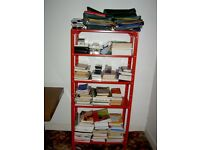Two Metal Shelves/Racks