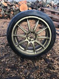 Subaru Impreza sti wrx pro drive Alloys wheels 2 wheels only