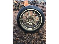 Subaru Impreza sti wrx pro drive Alloys wheels 2 wheels only