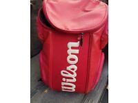 Wilson tennis racksack racquet bag