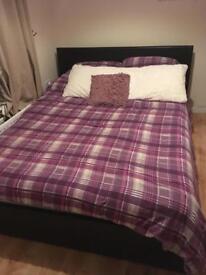 Kingsize bed, frame only - SOLD
