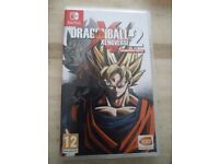 Dragon Ball z Nintendo switch (used) only £30