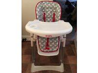 Red Kite Feed Me Ultimo Hi-Lo Chair (Polar)