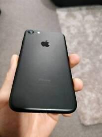 iPhone 7 32GB black - 7 mths warranty