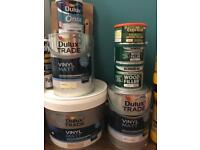 Brand new paint and wood glue