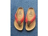 Girls flip flops sandals uk 13 new
