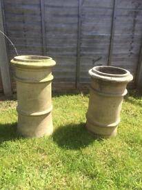 Chimney pots x 2