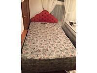 FREE used single bed with mattress and headboard.