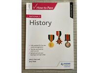 How to Pass National 5 History Second Edition by Hodder Gibson