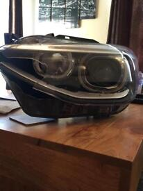 BMW F20 2013 1 series nearside xenon headlight