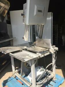 Hobart Vertical Meat Saw Model 6801 and 5700D