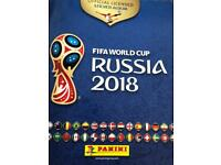 Panini World Cup stickers swap