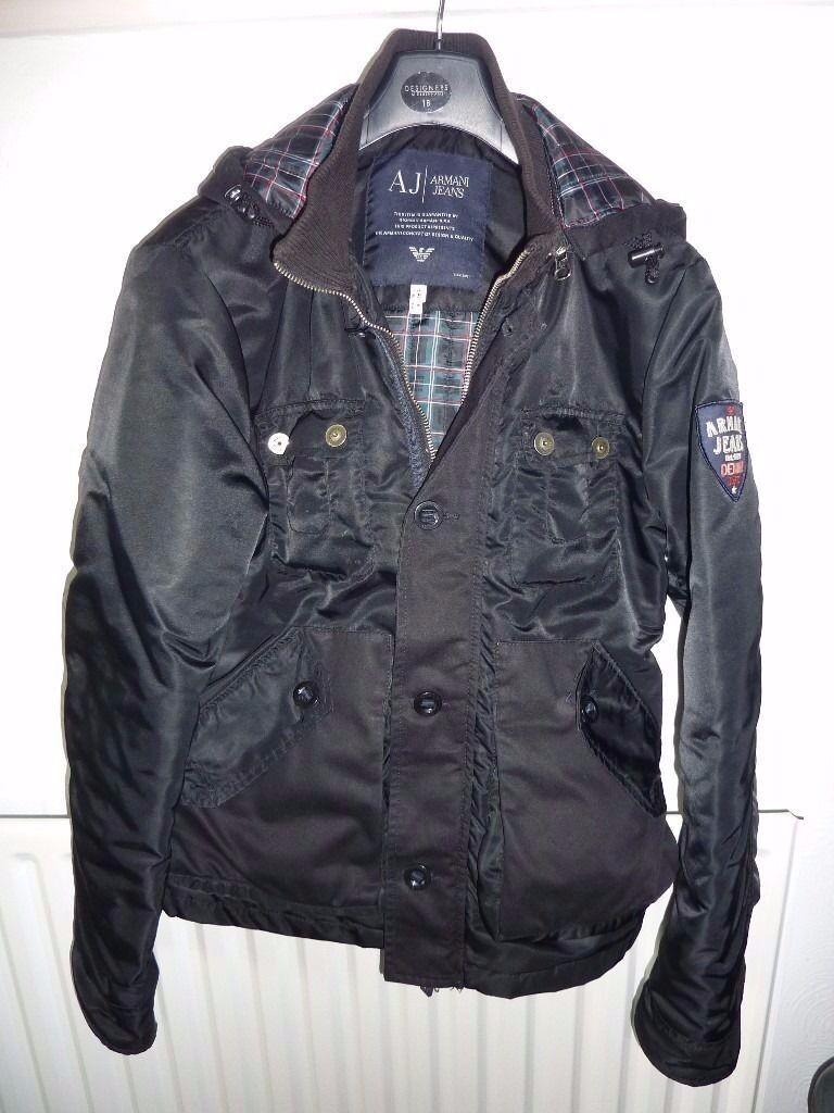 Mens jacket gumtree - Armani Jeans Men Coat Jacket Genuine