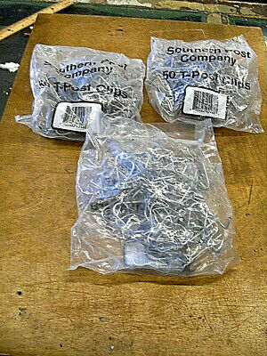Southern Post T-post Fence Clips Three 50-pk. 150 Total Clips 3 Bags