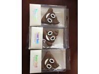Poo power bank - job lot 3 emoji poos! Normally cost £10 each