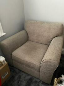 Large armchair.