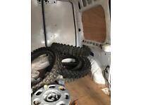 Moto cross tyres