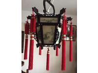Vintage 1960's Chinese Palace Lantern